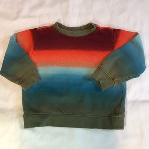 Gymboree Boys 2T sweatshirt, cool color and style!